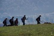 die Wandergruppe